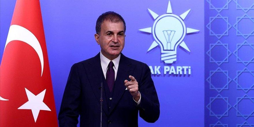 AK Parti Sözcüsü Çelik, MYK Toplantısı'na ilişkin açıklamalarda bulundu