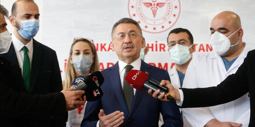 Cumhurbaşkanı Yardımcısı Fuat Oktay'dan faz-1 aşamasına gelen bir aşı müjdesi daha