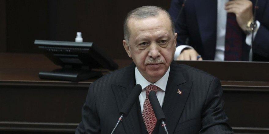 AK Parti Grubunda konuşan Erdoğan'dan CHP'li Engin Altay'a çok sert tepki