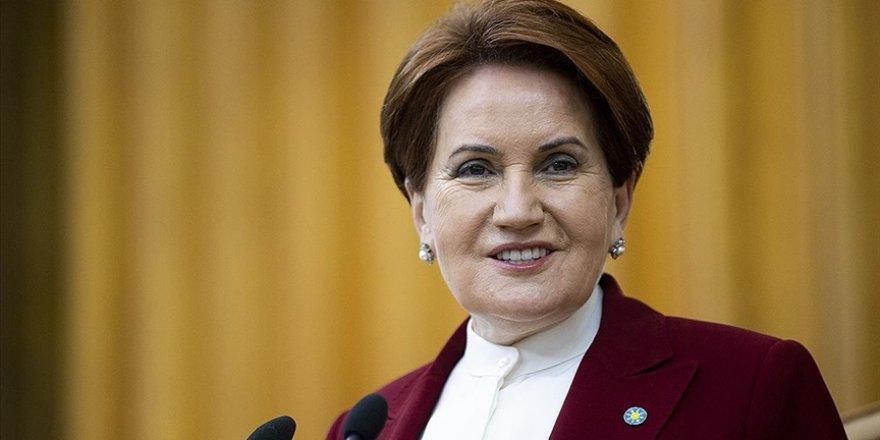 İYİ Parti Genel Başkanı Akşener: Milletin dertlerinin yapay gündemlere kurban edilmesine izin vermeyeceğiz