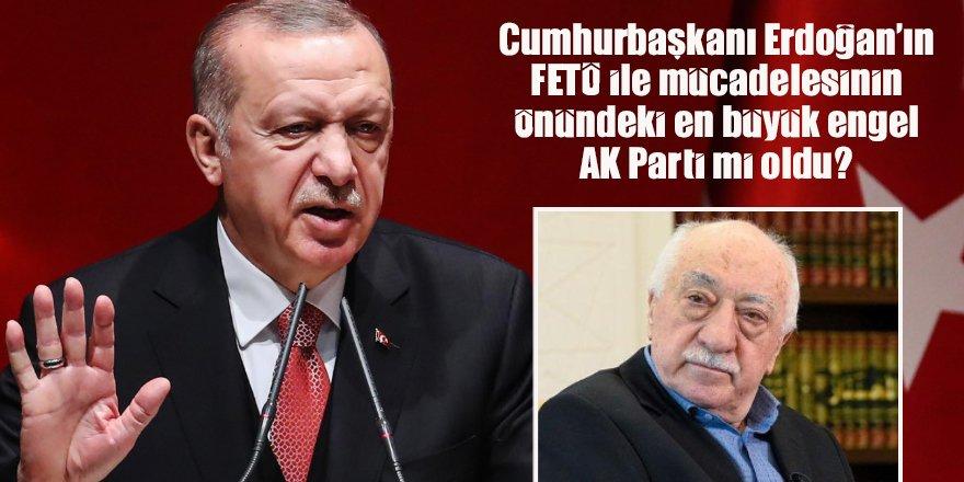 Cumhurbaşkanı Erdoğan FETÖ ile mücadelesinde AK Parti tarafından işte böyle yalnız bırakıldı