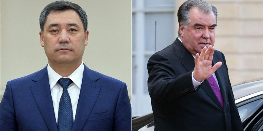 Kırgızistan ve Tacikistan Cumhurbaşkanları Duşanbe'de bir araya gelecek