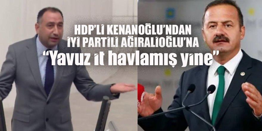 HDP'li Ali Kenanoğlu'ndan İYİ Partili Yavuz Ağıralioğlu'na: Yavuz it havlamış yine