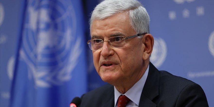 BM 75. Genel Kurul Başkanı Volkan Bozkır'dan Ermenistan'a 'soykırım' yanıtı