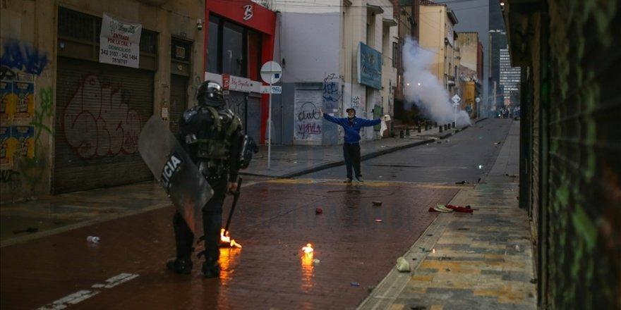 Kolombiya'da protestocular vergi reformunun getireceği ek yüke tepkili