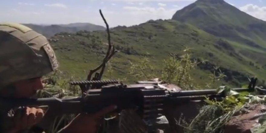 Pençe-Yıldırım Operasyonu'nda PKK'ya ait çok sayıda silah ve mühimmat ele geçirildi