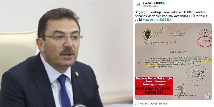 Selami Altınok'tan Anadolu Ajansı'nın 'Peker'e koruma kararında FETÖ izi' haberine sert tepki