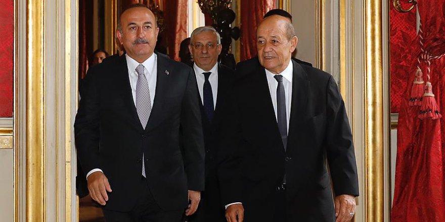 Fransa'dan Çavuşoğlu-Le Drian görüşmesine ilişkin açıklama