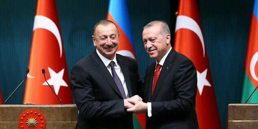 Cumhurbaşkanı Erdoğan ile Azerbaycan Cumhurbaşkanı Aliyev'den ortak basın toplantısı