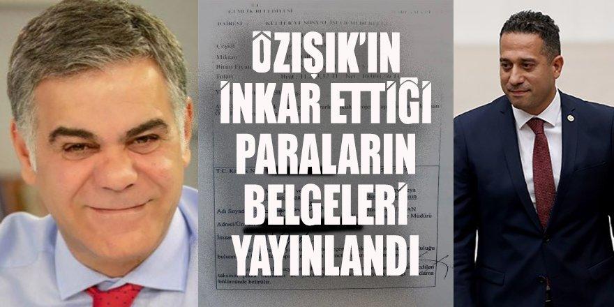 Süleyman Özışık dava açmakla tehdit edip 'mahkemede ispatlama şansı vereceğim' demişti ama Başarır belgeleri yayınlandı
