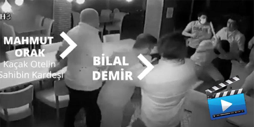 Didim Belediye Başkanı Ahmet Deniz Atabay'a düzenlenen saldırının görüntüleri çıktı