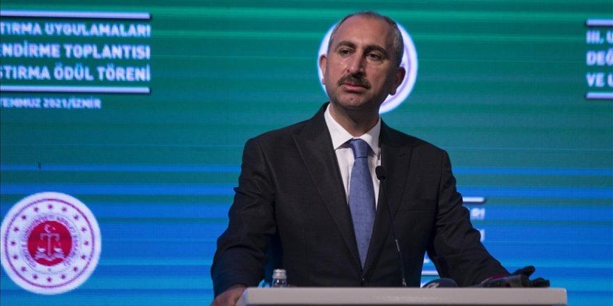 Adalet Bakanı Gül: 1 Ocak 2017'den bugüne 1 milyon 14 bin dosyada uzlaşma sağlandı