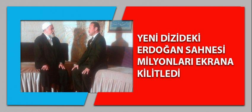 Erdoğan sahnesi Türkiye'yi ekrana kitledi!