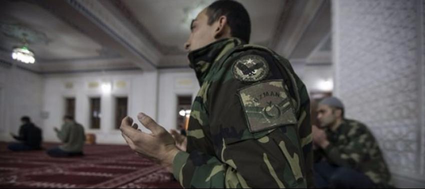 Yüksekova'da güvenlik güçlerinden Miraç duası