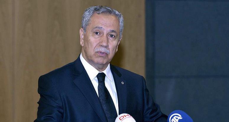 Arınç: Tüm bildiklerimi Akdoğan'ın namusuna emanet ediyorum!