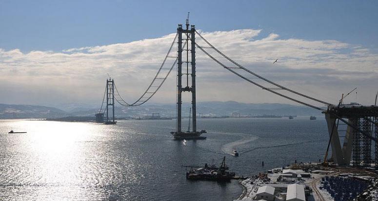 İzmit Körfez köprüsünde sona yaklaşıldı!