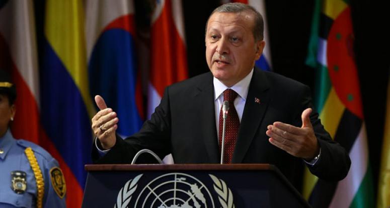 Erdoğan Peru'da IMF'yi sert eleştirdi! Salonda alkış tufanı koptu