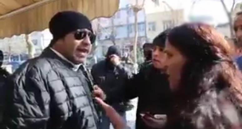 Milletin polisi HDP'li vekile had bildirdi!
