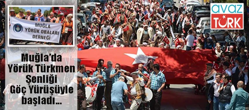 Yörük Türkmen Şenliği, temsili Göç Yürüyüşü ile başladı!