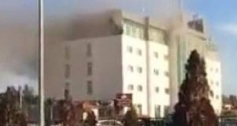 Erbil'de otel yangını: En az 17 ölü