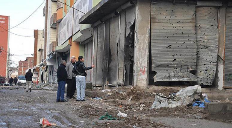 Teröristlerin Silopi'ye verdiği zarar ortaya çıktı