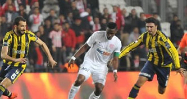 Fener Antalya'da kayıp! 24 maçlık seri bozuldu
