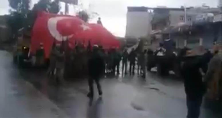 PKK'ya darbe vurdular mehter marşı ile kutladılar