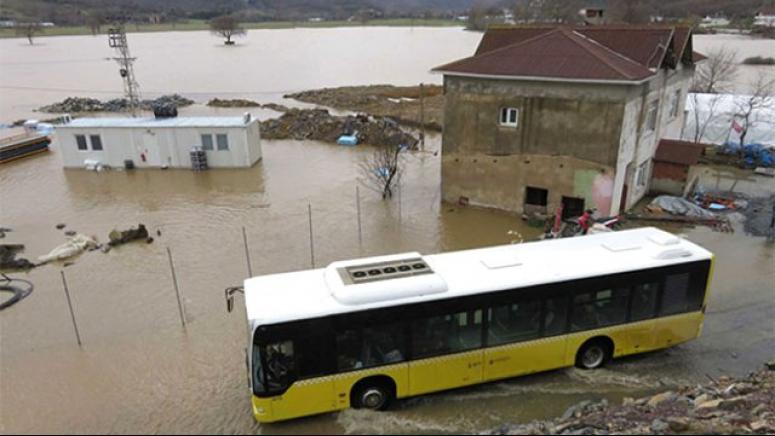 3. köprü sular altında!
