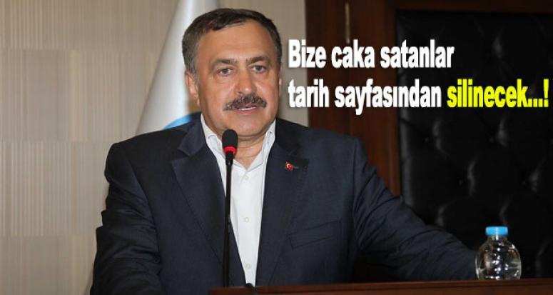 Orman ve Su İşleri Bakanı Eroğlu'ndan sert açıklamalar