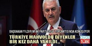 """Başbakan Yıldırım: """"Türkiye mahvoldu"""" diyenler bir kez daha yanıldı"""