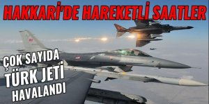 Çok sayıda Türk jeti havalandı