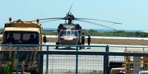 Helikopterimiz Yunanistan'dan alındı