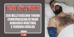 Eski milletvekilinin torunu FETÖ Cuntasının helikopter saldırısında yaralandı!
