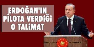 Erdoğan'ın, Dalaman'dan İstanbul'a gelirken pilota verdiği o talimat