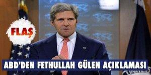 ABD'den flaş Fethullah Gülen açıklaması