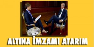 Cumhurbaşkanı Erdoğan: Altına imzamı atarım