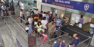 Türkiye'ye gelen yabancı sayısı ne kadar azaldı?