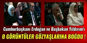 Devletin zirvesi Beştepe'de gözyaşlarına boğuldu
