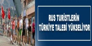 Rus turistlerin Türkiye talebi yükseliyor