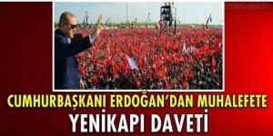 Cumhurbaşkanı Erdoğan'dan liderlere Yenikapı daveti