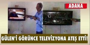 Teröristbaşı Gülen'i gören vatandaş pompalı tüfekle ateş etti!