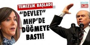 'Devlet' MHP'de düğmeye bastı!