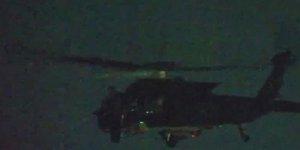 Sınırda ABD'li helikopter hareketliliği