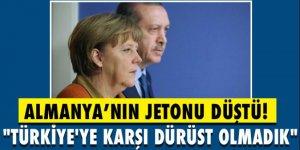 Almanya'nın jetonu düştü! ' Türkiye'ye karşı dürüst olmadık'