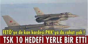 TSK terör örgütü PKK'nın sığınaklarını yerle bir etti