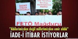 FETÖ mağduru askeri öğrenciler 'iade-i itibar' istiyor!