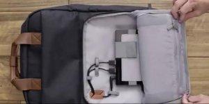 Dizüstü bilgisayarı şarj eden çanta üretildi