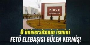 O Üniversitenin ismini Fetullah Gülen vermiş!
