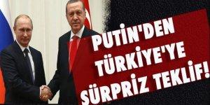 Putin'den Türkiye'ye sürpriz teklif
