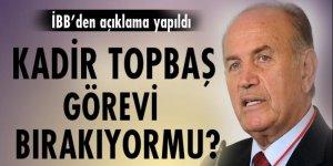 Kadir Topbaş'ın 'görevi bıraktığı' iddiaları yalanlandı